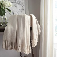 Haiden Ivory/Taupe Throw (Includes 3)