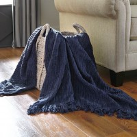 Noland Navy Throw (Includes 3)