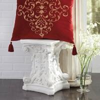 Amiela Scarlet Pillow