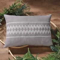 Amena Gray Pillow