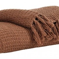 Rowena Brown Throw (Includes 3)