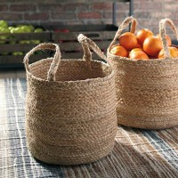 Brayton Natural Basket Set (Includes 2)