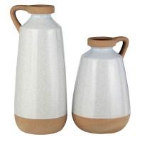 Tilbury Cream Vase Set (Includes 2)