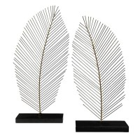 Eleutheria Gray/Black Sculpture (Set of 2) (Includes 2)