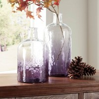 Maleah Purple Vase Set (Includes 2)