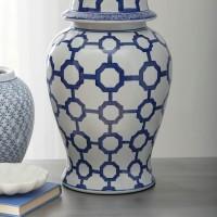 Dionyhsius Blue/White Jar