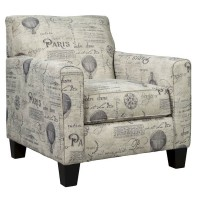Nesso Gray/Cream Accent Chair