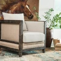 Copeland Linen Accent Chair