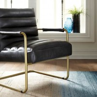 Hackley Black Accent Chair