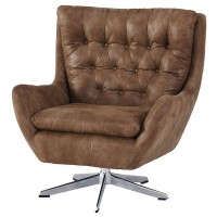 Velburg Brown Accent Chair
