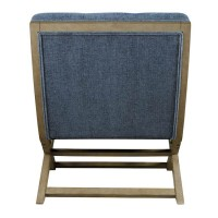 Sidewinder Blue Accent Chair