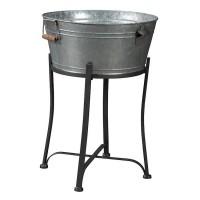 Valrock Antique Gray Beverage Tub