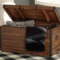 Kettleby Brown Storage Trunk