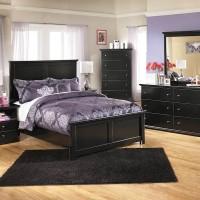 Maribel Black Bedroom Set