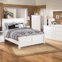 Bostwick Shoals White Bedroom Set