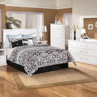 Bostwick Shoals White Bedroom Mirror