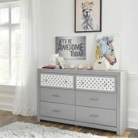 Arcella Gray Dresser