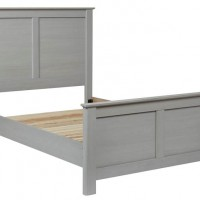 Arcella Gray Full Panel Headboard