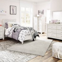 Paxberry Whitewash Bedroom Set