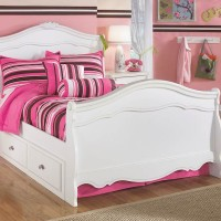 Exquisite White Under Bed Storage
