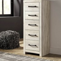 Cambeck Whitewash Narrow Chest