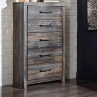 Drystan Multi Five Drawer Chest