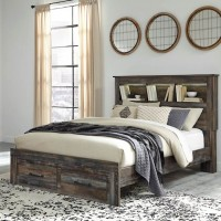 Drystan Multi Queen/Full Bookcase Headboard