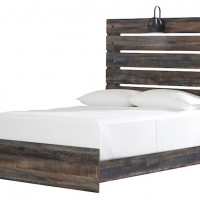 Drystan Multi Full Bookcase Bed with (2) Underbed Side Storage