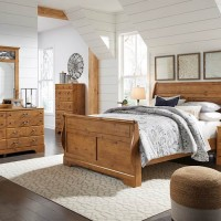 Bittersweet Light Brown Bedroom Set