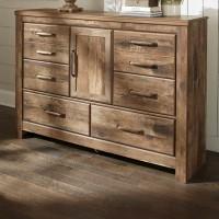 Blaneville Brown Dresser
