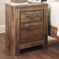 Blaneville Brown Two Drawer Night Stand