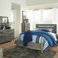 Cazenfeld Black/Gray Bedroom Set