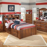 Barchan Medium Brown Bedroom Set