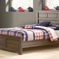 Juararo Dark Brown Full Panel Bed