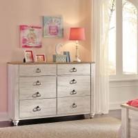 Willowton Whitewash Dresser