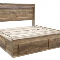 Rusthaven Brown Under Bed Storage