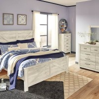 Bellaby Whitewash King Panel Headboard