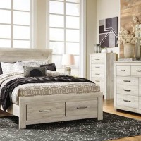 Bellaby Whitewash Bedroom Set