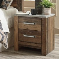 Chadbrook Brown Two Drawer Night Stand
