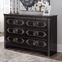 Banalski Dark Brown Dresser