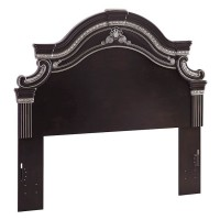 Banalski Dark Brown Queen/Full Panel Headboard