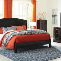 Minota Merlot Bedroom Set