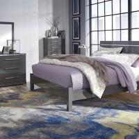 Steelson Gray Bedroom Set