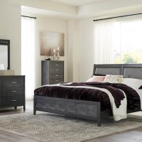 Delmar Dark Gray Bedroom Set