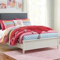 Faelene Chipped White Full Bed