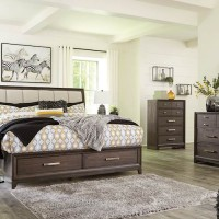 Brueban Gray Bedroom Set