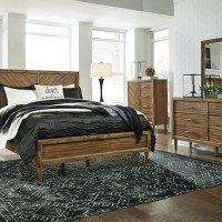 Broshtan Light Brown Bedroom Set