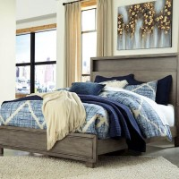 Arnett Gray Queen Bed