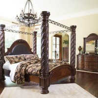 North Shore Dark Brown Bedroom Set