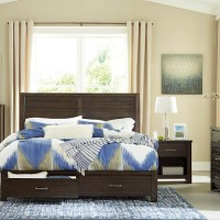 Darbry Brown Bedroom Set